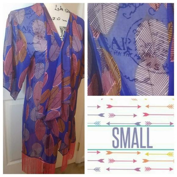 LuLaRoe Jackets & Blazers - LuLaRoe Monroe Kimono